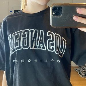 brandy melville Los Angeles graphic tee